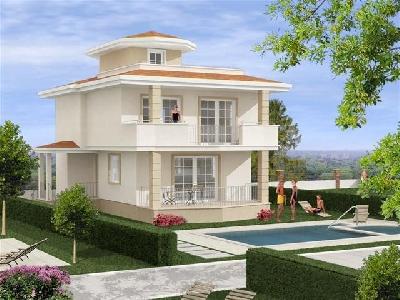 Property For Sale Or Rent: Dethaced Villa For Sale In Turkey,Aydin,Didim,Altinkum,Akbuk