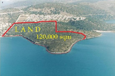 Property For Sale Or Rent: 120,000 sqm. SeaFront Land For Sale