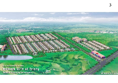 Property For Sale Or Rent: Approved Plots for sale near Trichy Airport