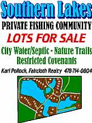 Rental Properties, Lease and Holiday Rentals: Water Front Lots For Sale Georgia, Best Bass Fishing In Ga.