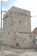 Real Estate For Sale: Old Tower With Mill And Big Yard Around