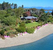 Real Estate For Sale: Tranquil Waterfront Retreat - Riparian Rights - House & Land