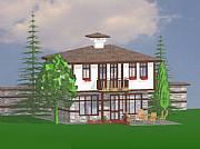 Real Estate For Sale: Bulgarian Traditional Villas - Hrabrovo Village