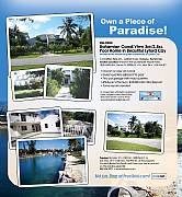 International real estates and rentals: Bahamian 3BR/2.5BA Canal View Pool Home In Lyford Cay