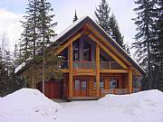 Real Estate For Sale: Ski-In Ski-Out Luxurious Log Chalet