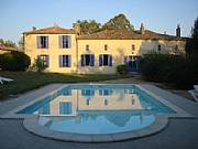 Rental Properties, Lease and Holiday Rentals: Elegant 18th Century Manor Situated In C. De Blaye Vineyards