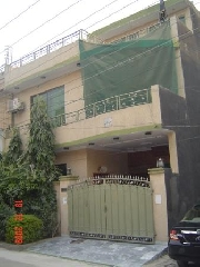 International real estates and rentals: 5 MARLA EXCELLANT HOUSE JOHAR TOWN LAHORE NEAR CANAL